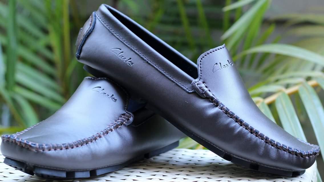 Black Clarks loafers - Standard